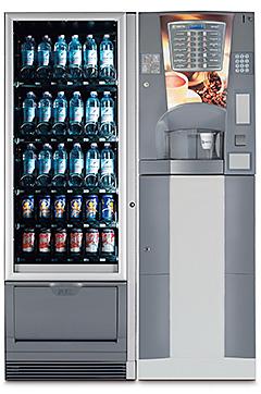 Necta Brio 3 - Necta Snakky Slave - Distribuzione Automatica per la Media Utenza di bevande calde fredde snack