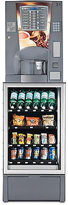 Necta Brio 3 - Necta Minisnakky - Distribuzione Automatica per la Media Utenza di bevande calde fredde e snack