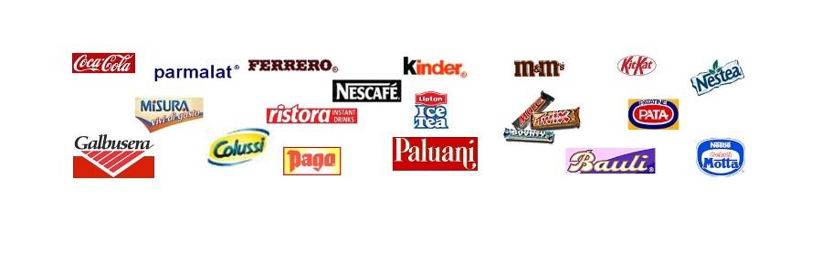 Coca Cola Parmalat Ferrero Kinder Galbusera Bauli Paluani Marchi bevande fredde e snacks distribuzione automatica Break Line